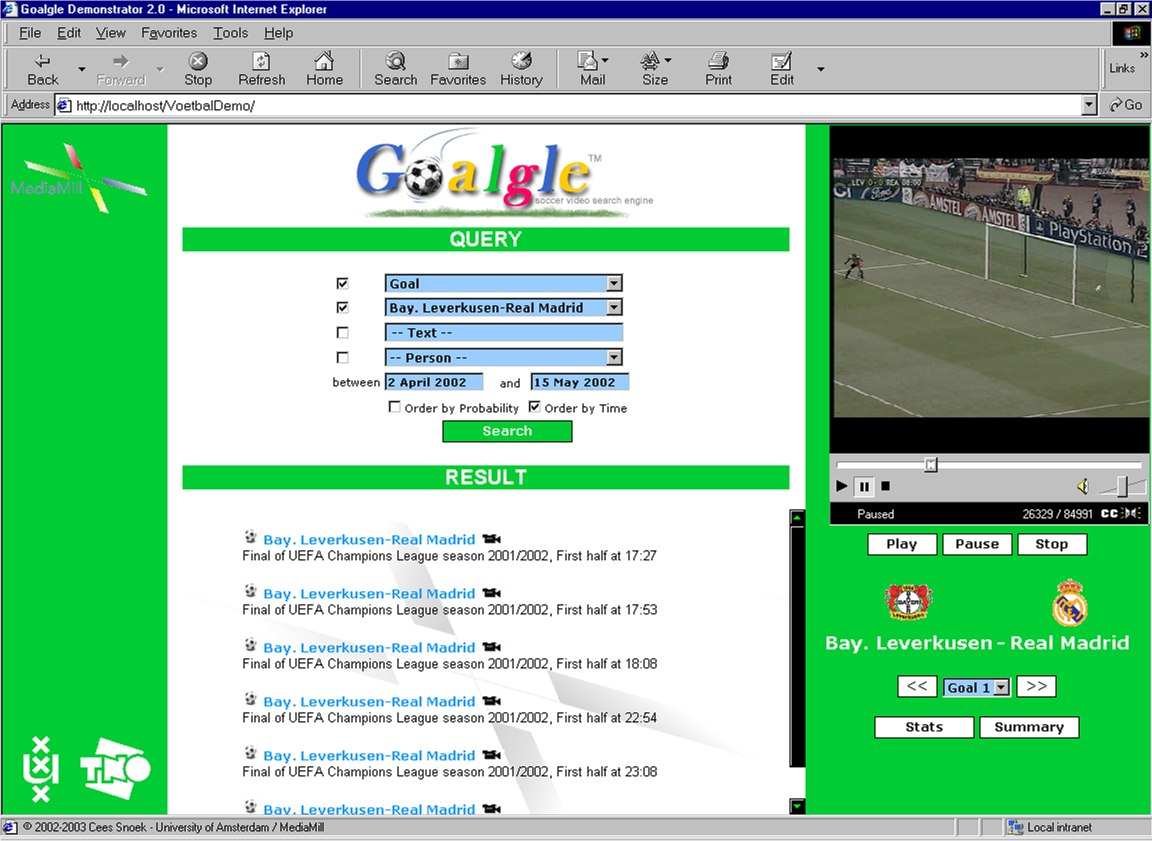Goalgle: A Soccer Video Search Engine