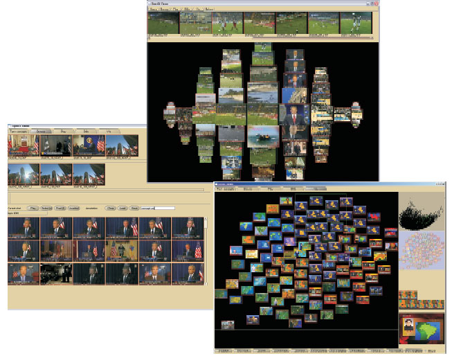 MediaMill: Exploring News Video Archives based on Learned Semantics